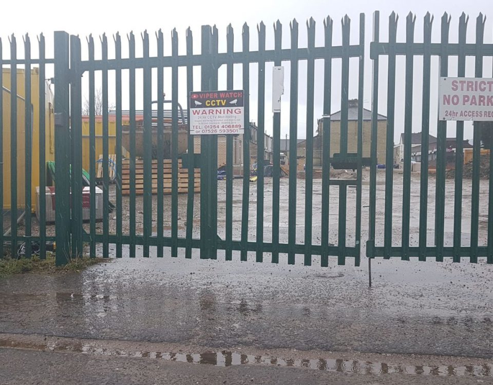 Security Fencing - Site Security and business security fencing solutions